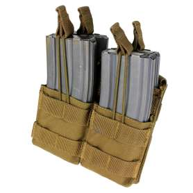 Double Stacker M4 Mag Pouch Coyote Brown Condor MA43-498