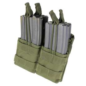Double Stacker M4 Mag Pouch Vert OD Condor MA43