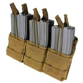 Triple Stacker M4 Mag Pouch Coyote Brown Condor