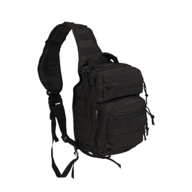 Sac US Assault Pack One Strap Small Noir Mil-Tec