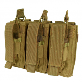 Triple Mag Pouch Kangaroo Coyote Brown Condor MA55