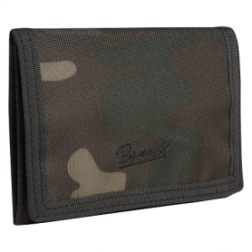 Portefeuille Wallet Three Dark Camo Brandit 8065