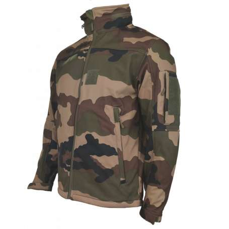 Veste Softshell Army Design Cam CE Summit Outdoor