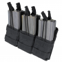 Triple Stacker M4 Mag Pouch Noir Condor