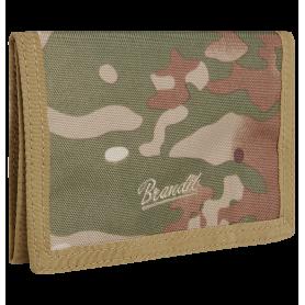Portefeuille Wallet Three Tactical Camo Brandit