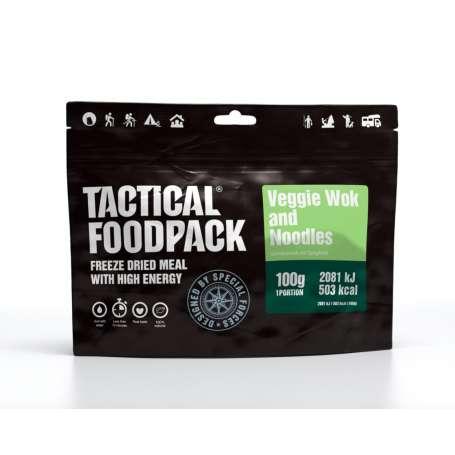 Wok de Légumes et Spaghetti Tactical Foodpack