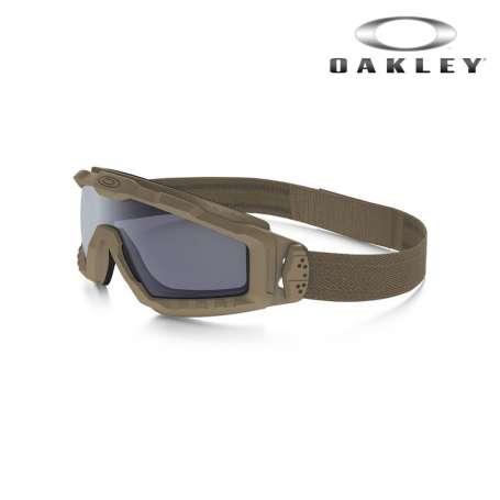 Masque SI Ballistic HALO Tan/Fumé Oakley