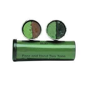 Stick Large de Camouflage Vert / Marron