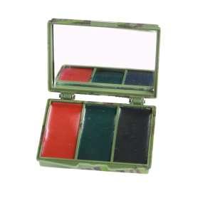 Palette de Camouflage 3 Couleur avec Miroir
