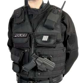 GK - Chasuble D'Intervention TACTIKNIGHT Modulable Police