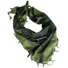 SHEMAGH Coton Vert / Noir