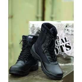 Tactical Boots Zip Noir