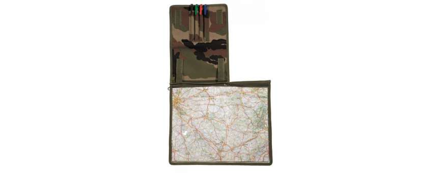Portes-cartes Topographie