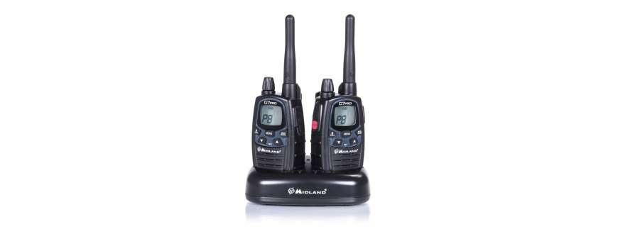 Les radios talkie-walkie gps anémométres piles accus etc