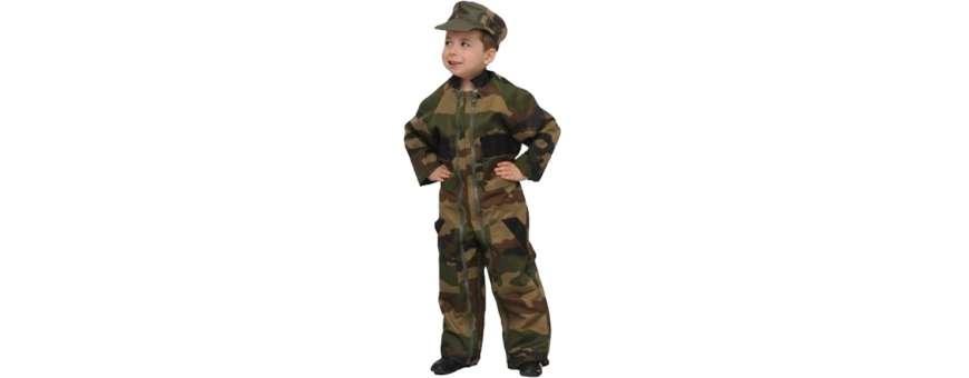 Pantalons, shorts, combinaisons militaires pour enfants