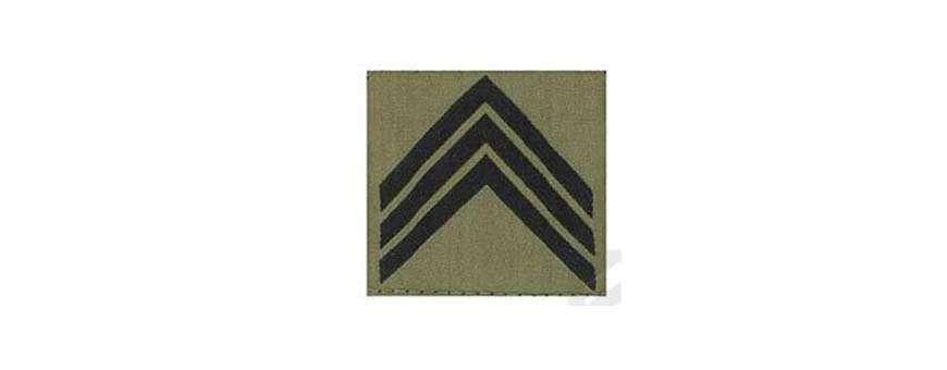 Écusson, Grade, Galon, Groupe sanguin - Militaire, Police, Gendarmerie