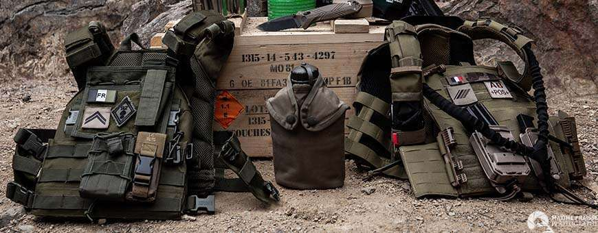 Gilets de combat, Pochettes MOLLE, Holster, Protection - Mode Tactique