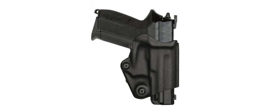 Holsters rigide ou souple pour SIG 2022, Glock, PAMAS, MASG1, Beretta