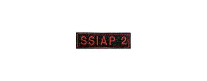 Patch scratch sécurité incendie SSIAP