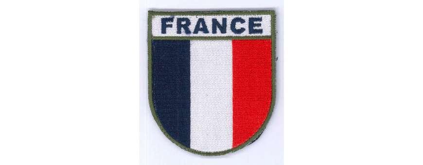 patch PVC et tissu drapeaux