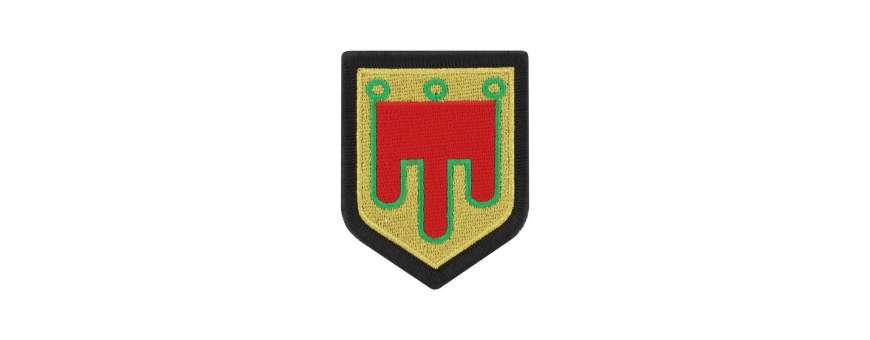 Écussons de Légion brodé de la Gendarmerie Nationale