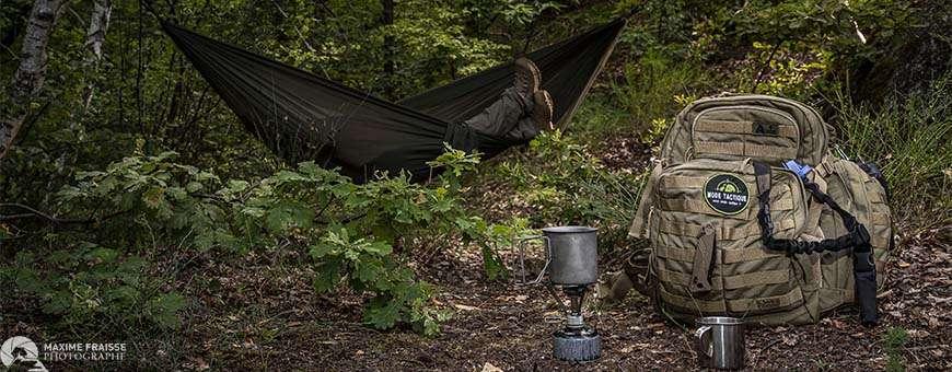 Mode Tactique: bivouac, bushcraft, survie, camping, chasse, pêche
